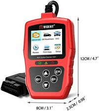 VIDENT V301 All System OBD2 Scanner with 8 Functions