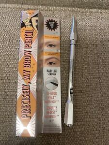 Benefit Brown Eyebrow Pencil Precisely, My Brow 3.5 Neutral Medium Brown New