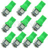 10X T10 5050 5-LED SMD 194 168 W5W Wedge Ampoule Vert XÉNON Voiture Queue Lampe
