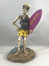 Die Hard Surfer Skeleton Figure Surf Or Live Surf Or Die, Summit Collection