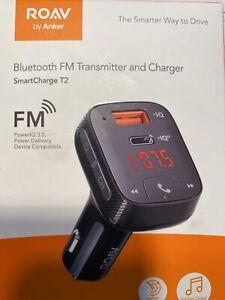 Anker Roav R5114011 SmartCharge T2 FM Transmitter & SmartCharge - Black