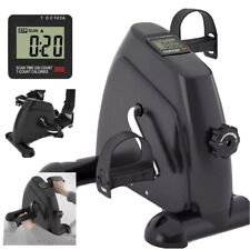 Portable Mini Cycle Bike Foot Pedal Exercise Machine Arm and Leg Recovery Peddle
