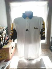 1980's Starter Pro Line PITTSBURGH STEELERS Sideline Coaches Polo Large