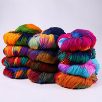 17 Colors DIY Soft Milk Crochet Yarn Wool Knitting Yarn Hand Craft Baby Sweater