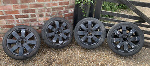 RENAULT CLIO 172 182 ALLOY WHEELS X4  WITH TYRES - 205 45 R 16 INCH - 4x100 PCD