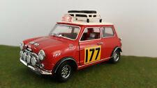 MORRIS MINI COOPER 1275S RALLY 1967 MONTE CARLO # 177 rallye au 1/18 KYOSHO 7012