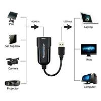 Portable HD USB 3.0 to HDMI 1080P 60fps Monitor Video Capture Card For Computer