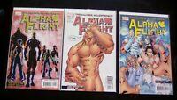 Alpha Flight All New All Different! #1-7 & #9-12 High Grade Comic Book RM4-6