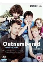 OUTNUMBERED  - COMPLETE SEASONS 1 & 2 - BRAND NEW & SEALED DVD BOXSET