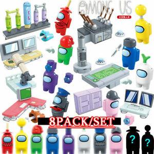 8Pcs/Set Game Action Figures Fit Blocks Set Kid PVC Collection Toy Gift