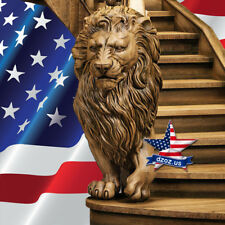 ❤️️Bas relief lion for stairs✅Wood Carved 3D sculpture statue figure picture art