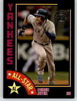 2019 Topps Series 2 1984 All-Star #84AS-DJ Black /299 DEREK JETER Yankees