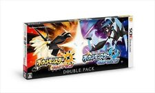 Nintendo 3DS Pokemon Ultra Sun & Ultra Moon Double Pack from JAPAN