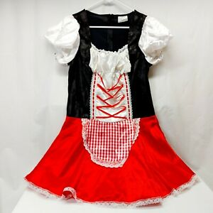 Spirit Halloween Gothic Little Red Riding Hood Costume - Adult Large Pre-Owned