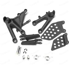 Motorbike Black Front Foot Pegs Bracket Fit For Honda CBR1000RR 2004-2007 New