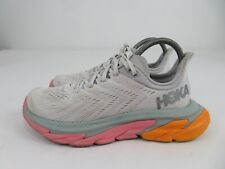 Hoka One One Clifton Edge Cloud/Multicolor Running Athletic Shoes Womens 7.5
