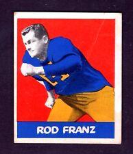 1948 Leaf #79 Rod Franz University of California Rookie Card VG
