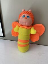 1984 Soma Glo Kids Butterfly Little Treasures Glo Glow Worm Orange Not Working