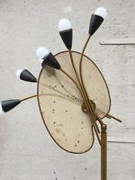 Lampadaire Lunel Palette De Peintre Tôle Perforé  1950 Era Mattegot Biny