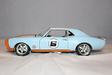 GMP 1/18 1968 Street Fighter Chevrolet Camaro Gulf Livery MIB LE