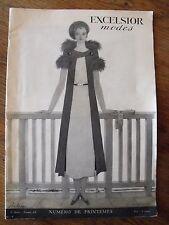 Excelsior Modes couverture Georges Lepape Numéro 19 des Années 1930