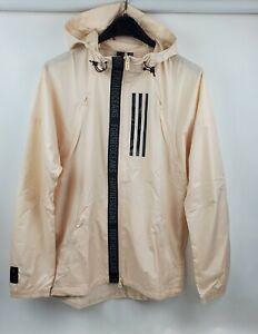 adidas Men W.N.D. Parley Full Zip Linen Running Jacket DX9290 Size XS MSRP $90