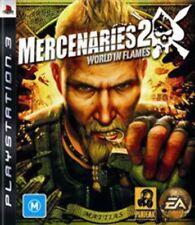 Mercenaries 2 World in Flames PS3 Game USED