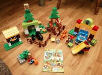 RARE LEGO DUPLO 10584 FOREST PARK LOVELY COMPLETE WITH INSTRUCTIONS RETIRED