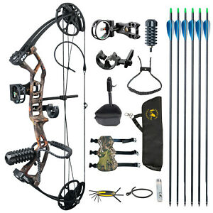 """TOPOINT M2 Youth Compound Bow 10-40lb Adjustable17-27"""" Draw For Target Archery"""