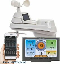 AcuRite Professional 5-in-1 Weather Station with Wi-Fi Color Display - 01540Sb