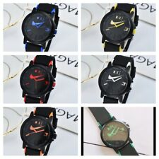 Nike ANALOG WATCH SILICONE BAND New W/out Tags No Box 6 to Choose From