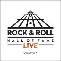 VARIOUS ARTISTS ROCK AND ROLL HALL OF FAME LIVE, VOL. 1 NEW VINYL