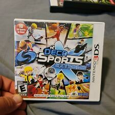 Deca Sports Extreme Video Game (Nintendo 3DS, 2011) Authentic , Complete
