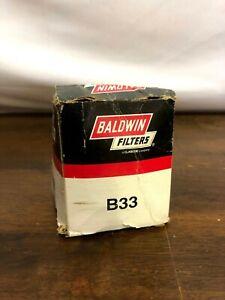 Engine Oil Filter Baldwin B33