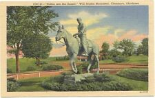 WILL ROGERS Monument ~ Claremore Oklahoma ~ LINEN
