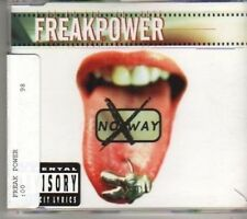 (BV920) Freak Power, No Way - 1998 DJ CD