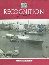 RECOGNITION JOURNAL NOV 56 HMCS ST. LAURENT S.O.4050 VAUTOUR MITSCHER-CLASS DHC
