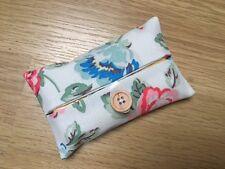 Handmade Packet Tissue Holder Case Made Using Cath Kidston Rainbow Rose Fabric