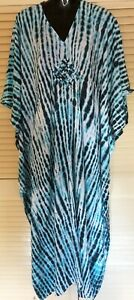 New Long  Kaftan Dress Casual or dressy Grecian fall Boho Plus size 16-24 New