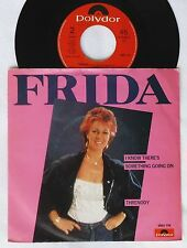 "7""  FRIDA  MISLABLED Single  I Know There's Something Going On / Threnody  ABBA"