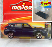 Majorette Subaru Impreza STI Dark Blue 1/64 275C Wheel 5CS Short Package
