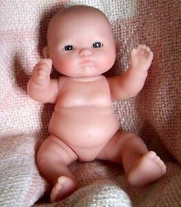 """Lots To Love Precious 5"""" Berenguer Chubby Doll Itsy Bitsy #6  Kissy Face"""
