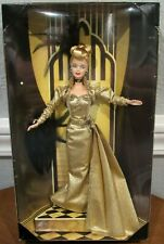 NEW MATTEL 1998 MGM GOLDEN HOLLYWOOD BARBIE DOLL - 75 YEARS OF FILM - NRFB