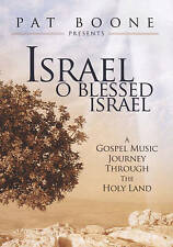 Pat Boone~Israel, O Blessed Israel~Brand New~A Gospel Music Journey DVD