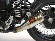 GP Slip On Exhaust w/ Valve Delete Comp Werkes WB1200V for 14-17 BMW R Nine T