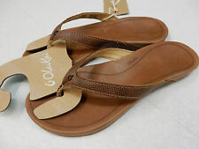 49164c6e14db9 OluKai Womens Sandals Hi ona Tan Size 9