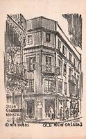 "New Orleans, Louisiana, LA, 'Sieur George's House"", 1946 Vintage Postcard e9245"