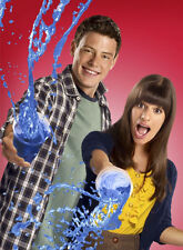 Glee UNSIGNED photo - E1889 - Cory Monteith and Lea Michele