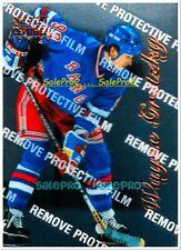 PINNACLE SELECT CERTIFIED 1996 WAYNE GRETZKY NHL NEW YORK RANGERS MINT CARD #4