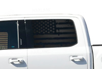 Distressed USA American Flag Decals - Fits 2015-2020 Ford Raptor f-150 Sport FF2